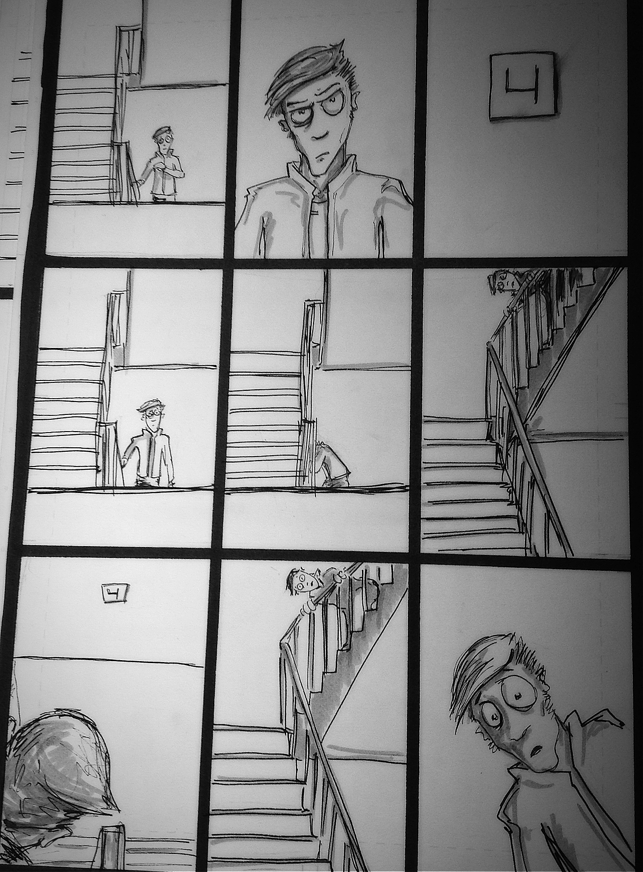 The Fourth Floor page 4